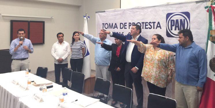 Rindieron protesta Comités Directivos Municipales del PAN en Loreto, Comondú y Los Cabos.