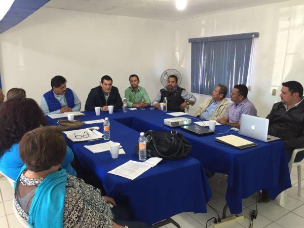 Para consolidar al PAN en la entidad, coordinarán esfuerzos las representaciones del partido en los cinco municipios.