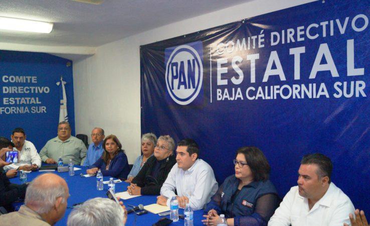 Presenta el PAN a los coordinadores de síndicos y regidores en los municipios de B.C.S.