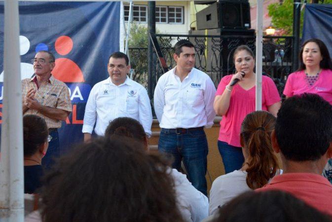 Una exitosa jornada social del Partido Acción Nacional, ahora en Santa Rosalia