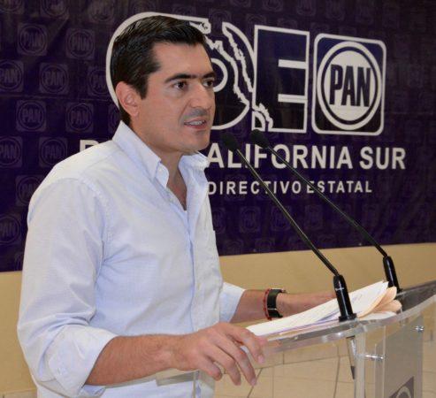 Critica PAN postura demagógica del PRI frente a la seguridad en La Paz