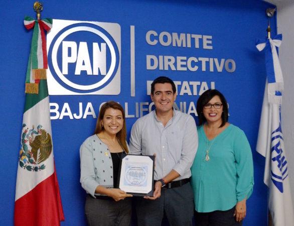 Guadalupe Saldaña coordinará fracción del PAN en el Congreso del Estado.