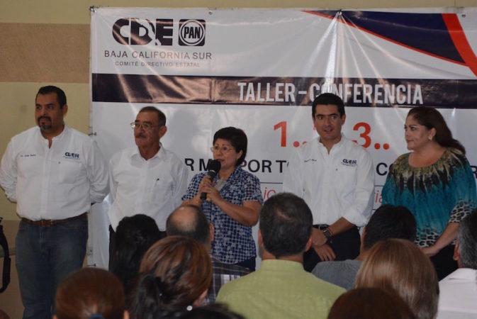 Realiza el PAN jornada de capacitación para funcionarios públicos municipales y estructuras partidistas.