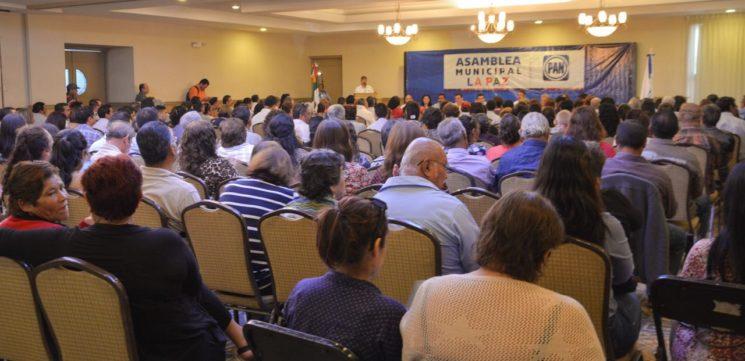 Con gran participación de su militancia el PAN realizó Asambleas Municipales