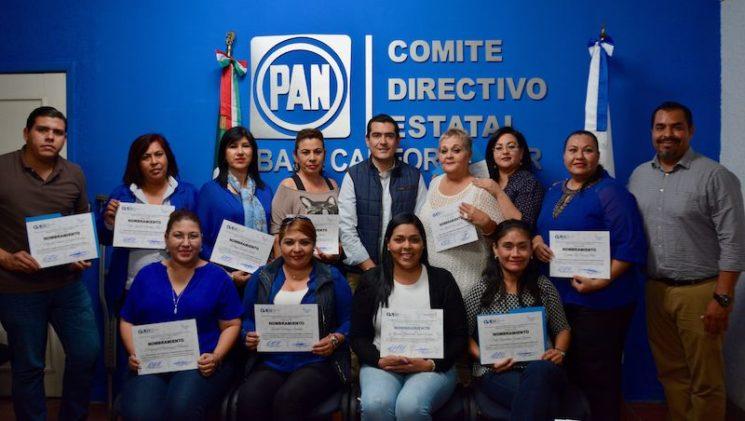 PAN BCS reconoce e impulsa la participación política de las mujeres
