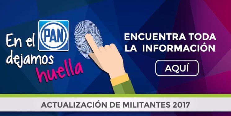 ACTUALIZACIÓN DE DATOS DE MILITANTES