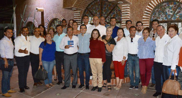 El PAN tiene el mejor proyecto para México y los estamos demostrando en BCS: Rigoberto Mares