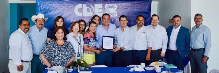 Nombra el PAN a Sergio García Covarrubias nuevo coordinador de diputados locales