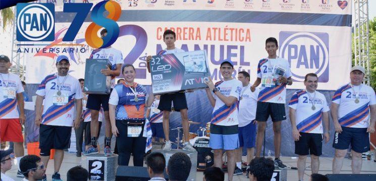 Con gran éxito se realiza la Segunda Carrera Atlética Manuel Gómez Morín