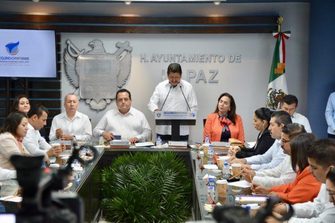 Con Armando Martínez, Ayuntamiento de La Paz ha recuperado el buen rumbo: Rigoberto Mares.