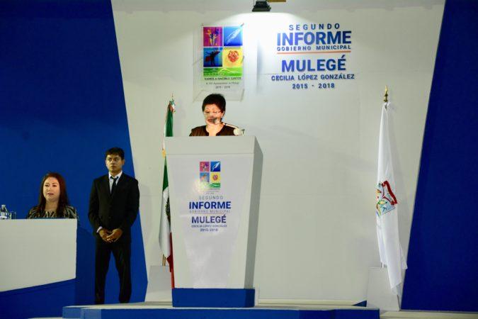 En Mulegé, Cecilia López esta dando buenos resultados a los ciudadanos: Rigoberto Mares