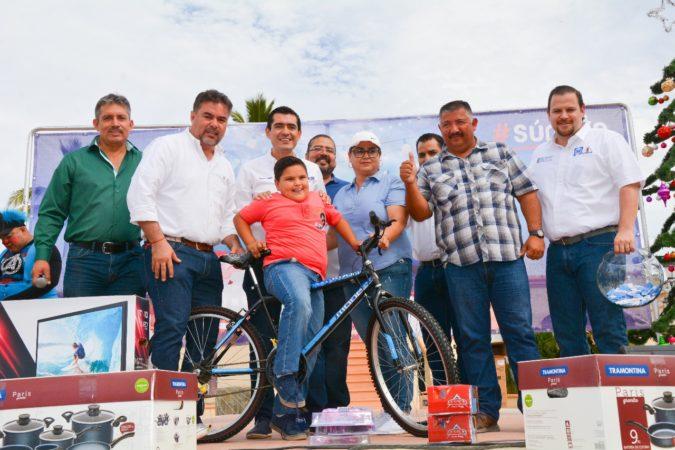 En el municipio de La Paz comenzó el PAN sus tradicionales posadas Azules