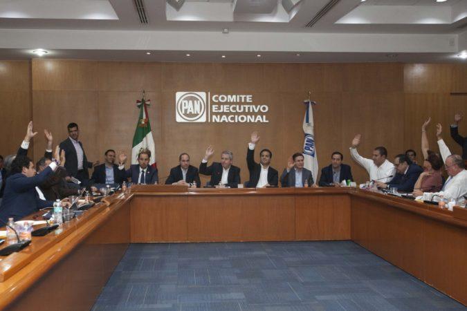Comisión Permanente Nacional del PAN aprueba candidaturas a Senadurías, Diputaciones y Ayuntamientos