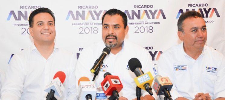 Se comprueba la intervención del Gobierno mediante el uso faccioso de la PGR en proceso electoral contra Ricardo Anaya
