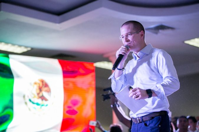 Solo Ricardo Anaya representa una opción de cambio, PRI y MORENA son más de lo mismo: Bustos Alvarado