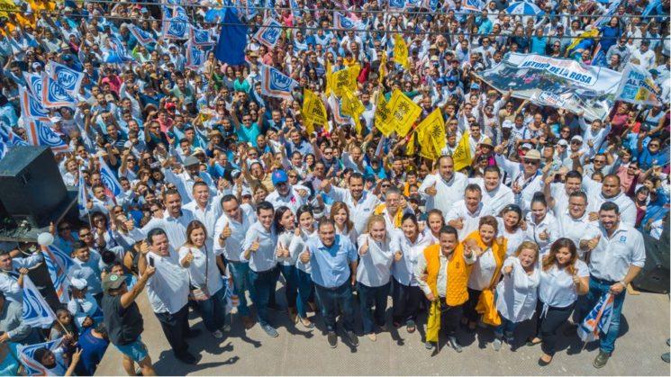 Con paso firme avanzan los registros de los candidatos del Frente por BCS