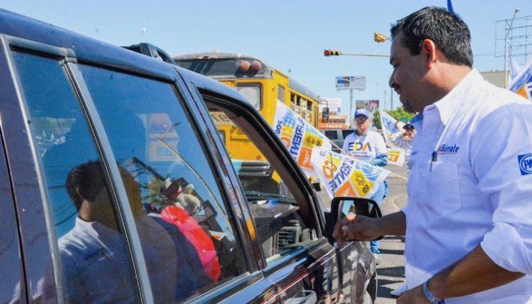 Los candidatos de Por México Al Frente son la opción para los Sudcalifornianos: Bustos Alvarado
