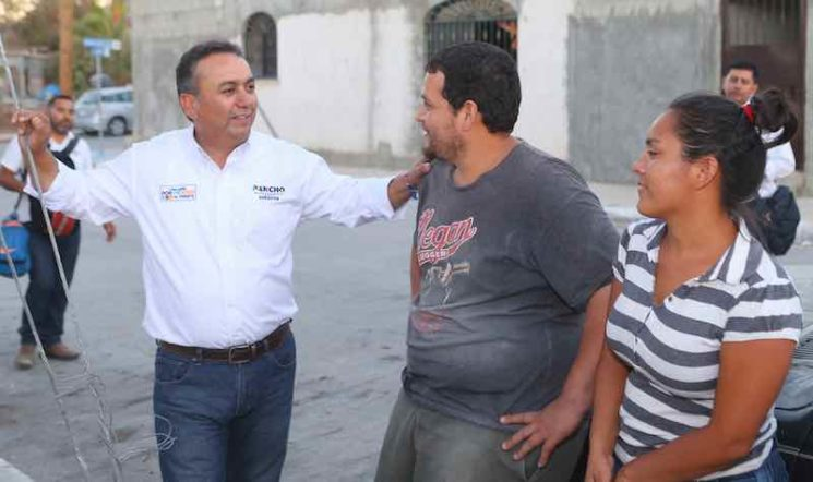 Vamos a ganar la elección porque la gente confía en nuestros resultados a la vista: Pancho Pelayo