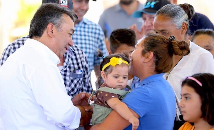 Vamos a defender el agua y la vida, afirma Pelayo en Todos Santos y Pescadero