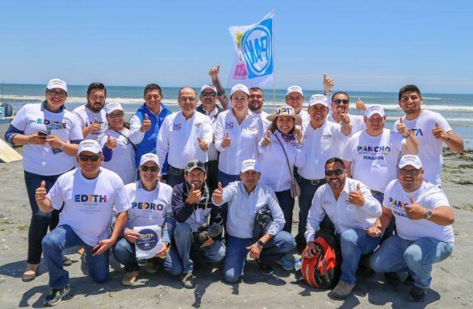 Defenderé los proyectos estratégicos que beneficiarán a BCS; Lupita Saldaña