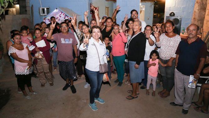 Nuestro compromiso es bajar el IVA al 8 por ciento; Lupita Saldaña