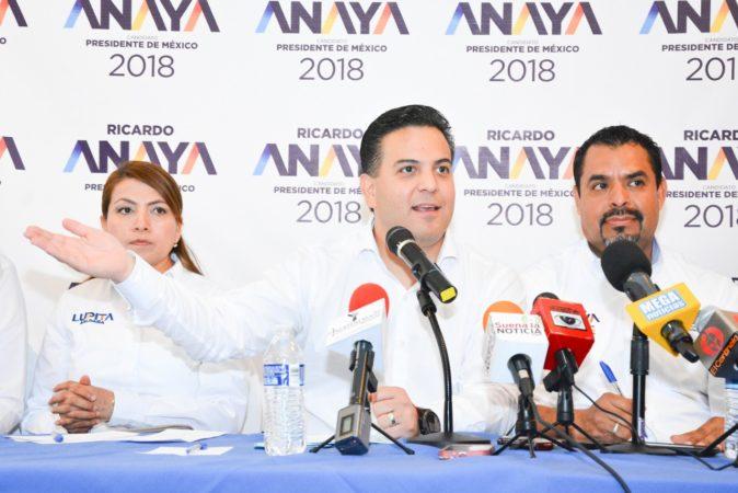 López Obrador y Morena representan regresar al viejo PRI: Damián Zepeda