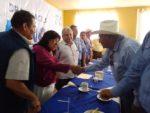 Productores Usuarios de Agua Apoyan a la Dra. Niño