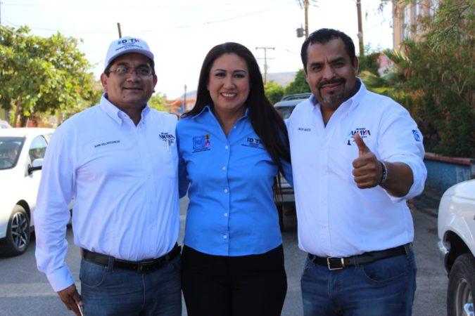 Ganó Edith Aguilar con propuestas el debate de candidatos a la presidencia de Mulegé: Javier Bustos