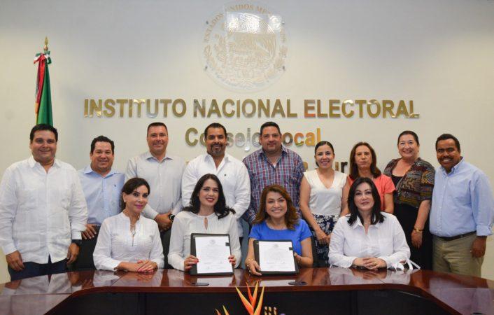El PAN en Baja California Sur seguirá de lado de los ciudadanos: Javier Bustos