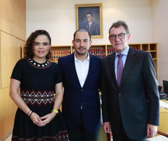 Recibe Marko Cortés visita del Embajador de Alemania en México, Peter Tempel