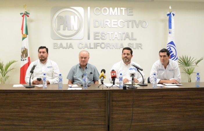 Denuncia Acción Nacional intenciones de López Obrador de hacer campaña para Morena y sus candidatos