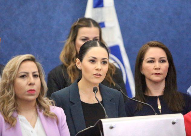 Mujeres no son una prioridad para el gobierno federal: Acción Nacional