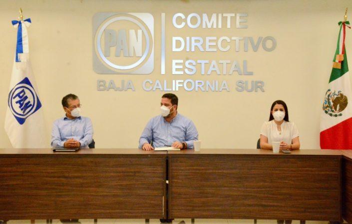 Se integra Genaro Ruíz a los trabajos del Comité Directivo Estatal del PAN en BCS