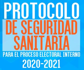 MANUAL PROTOCOLO DE SEGURIDAD SANITARIA PROCESO INTERNO 2020 2021