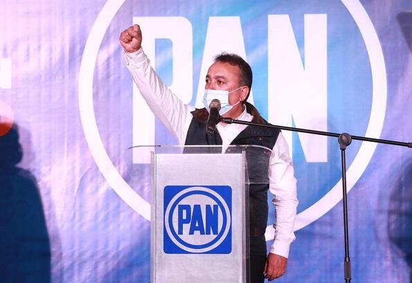 Francisco Pelayo recorrerá todo el estado para refrendar los triunfos de Acción Nacional