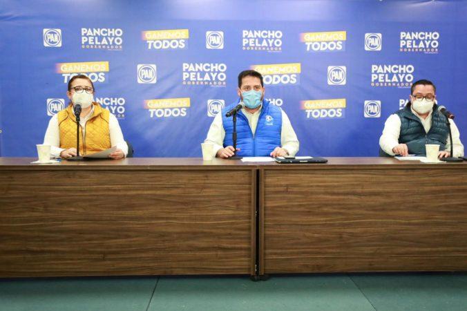 El panismo refrendó de manera contundente a Francisco Pelayo como candidato a Gobernador