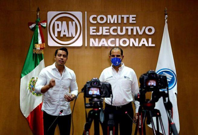 Convoca Marko Cortés a red digital a sumar fuerzas rumbo a contienda electoral