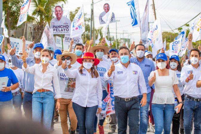 Daremos estímulos a empresas que contraten a recién egresados: Lupita Saldaña